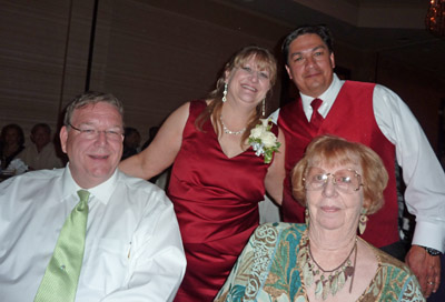 Mary sanchez wedding